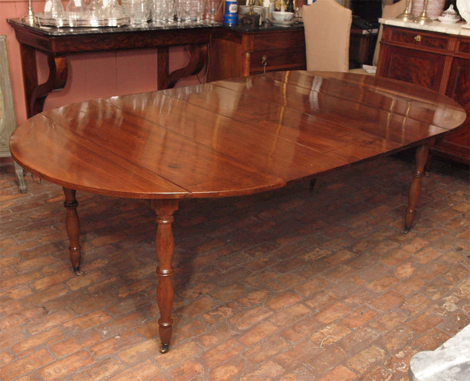 early 19th century french walnut dining table at 1stdibs
