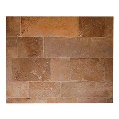 Antique French Burgundian floor tiles