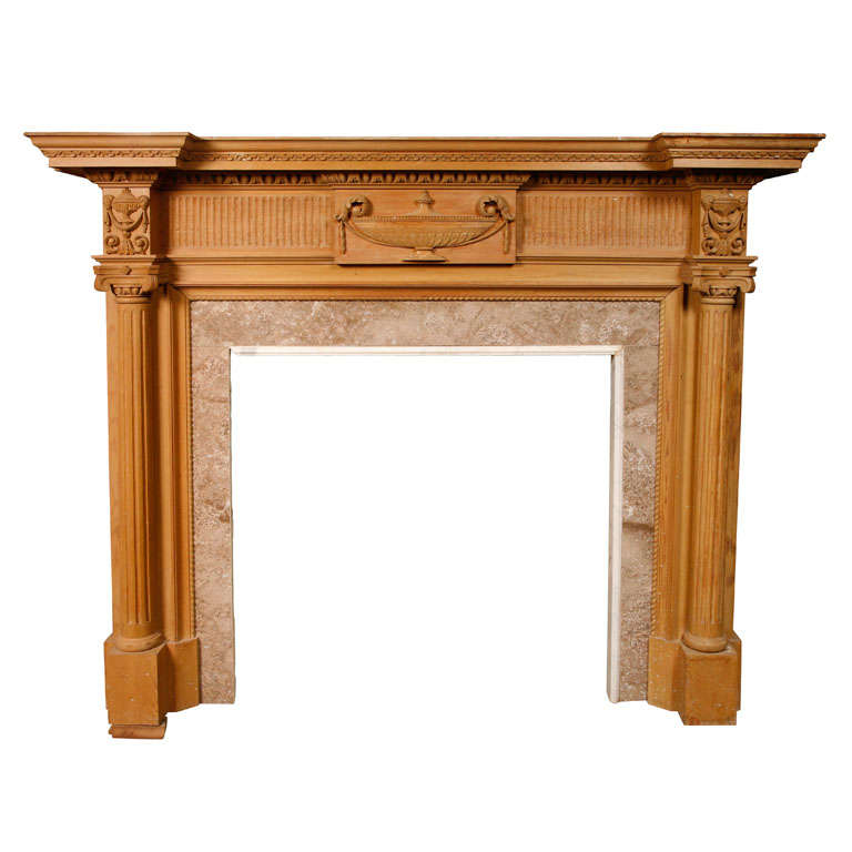 C and a mantel