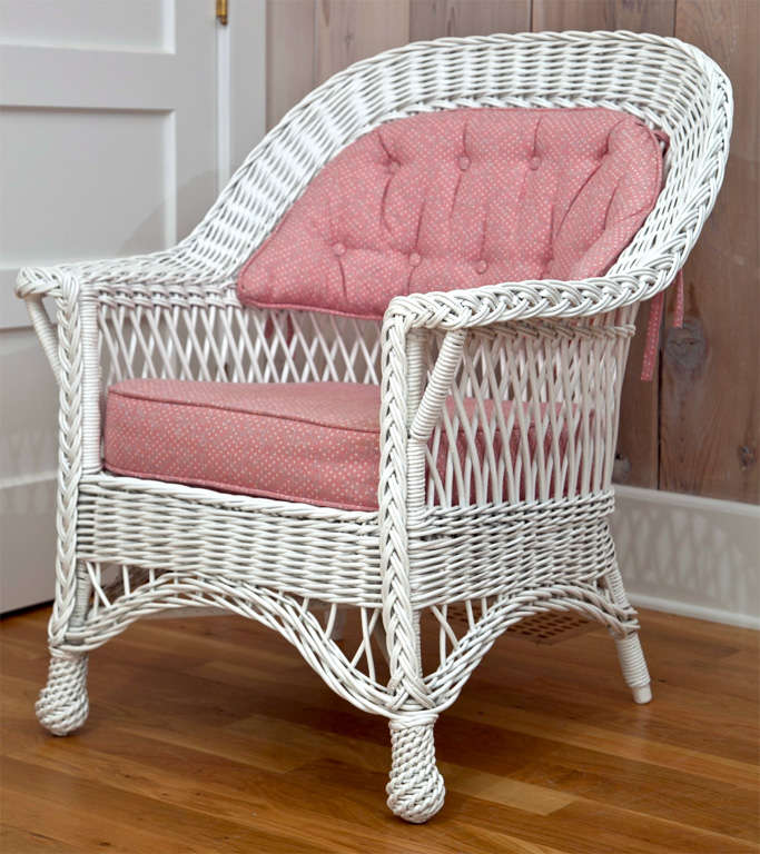 Heywood Wakefield Bar Harbor Wicker Chair For Sale At 1stdibs