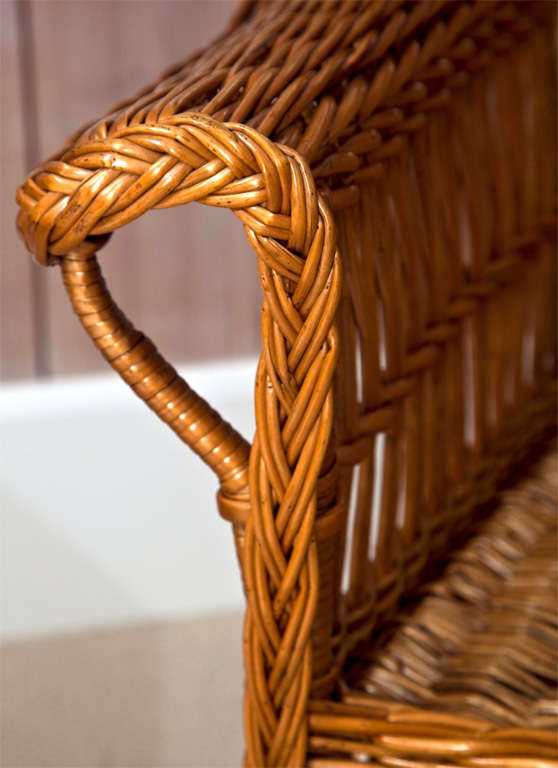 Antique Willow Bar Harbor Chair At 1stdibs