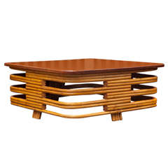 Rattan Cocktail Table