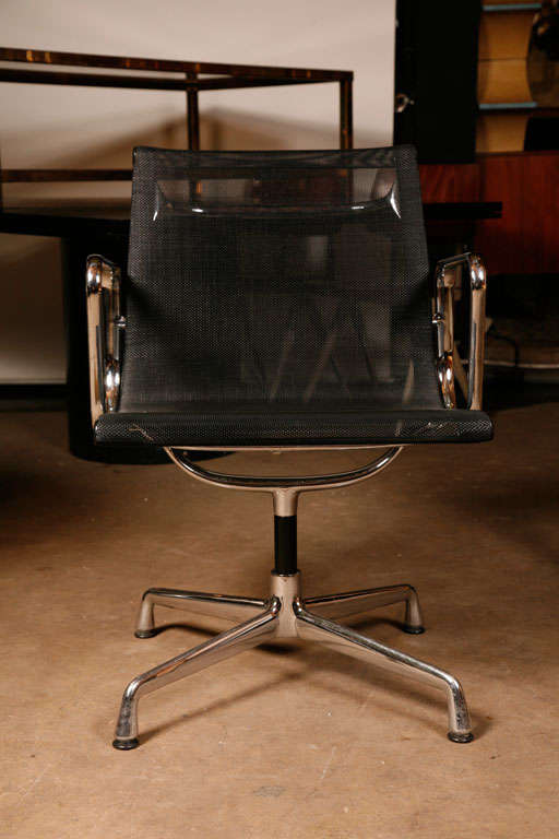 8x Charles And Ray Eames Ea107 Netweave For Sale At 1stdibs