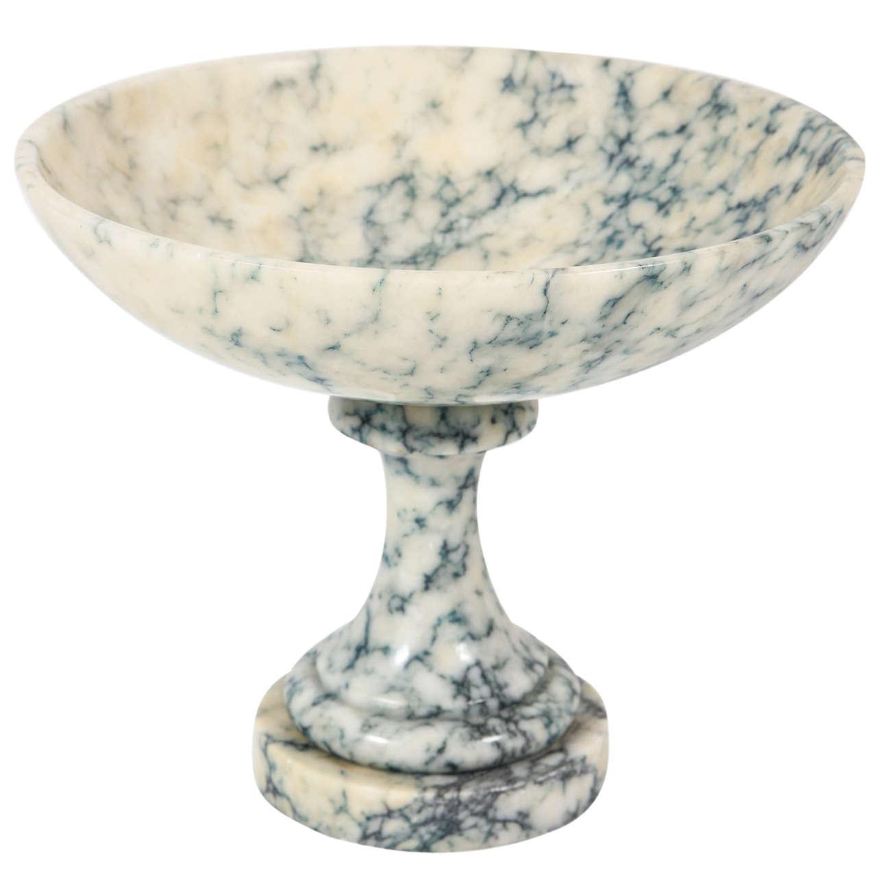 Marble Pedestal Bowl At 1stdibs