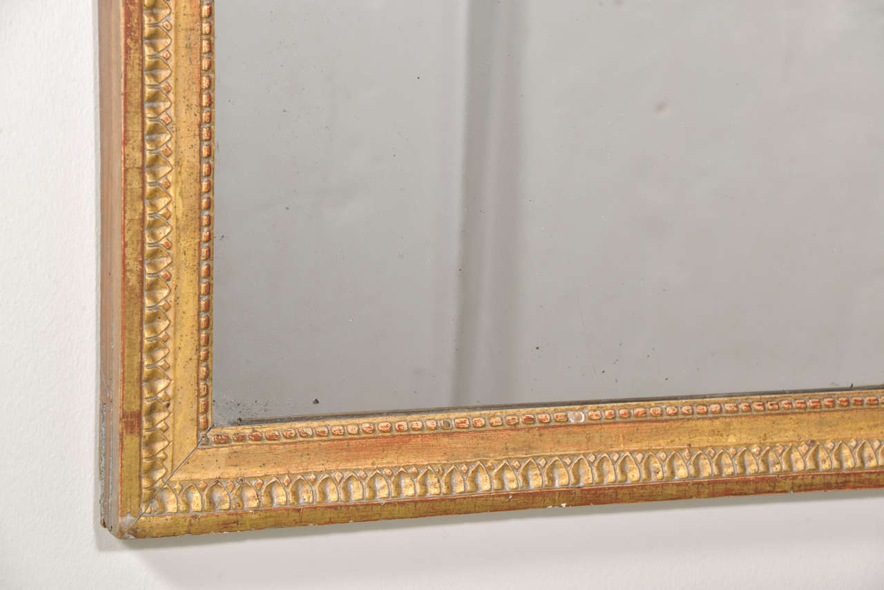 Louis XVI Period Mirror In Excellent Condition For Sale In Houston, TX