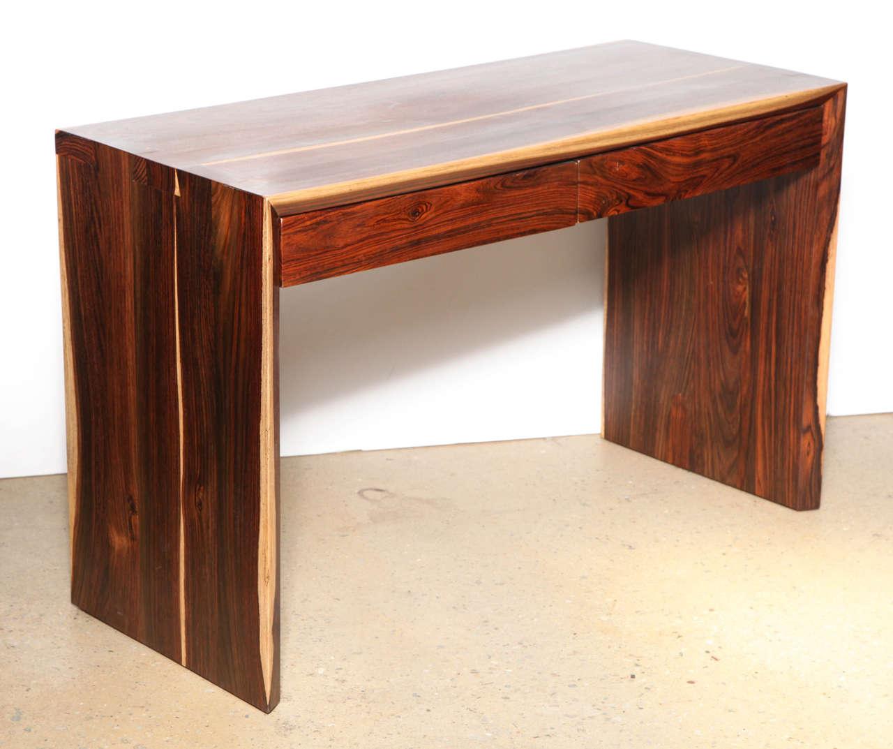 Craft Revival Cocobolo Desk At 1stdibs