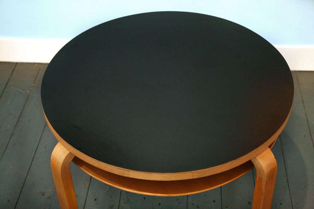 Finnish Two-Tier Table from Alvar Aalto