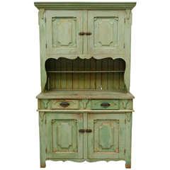 American Painted Pine Cupboard