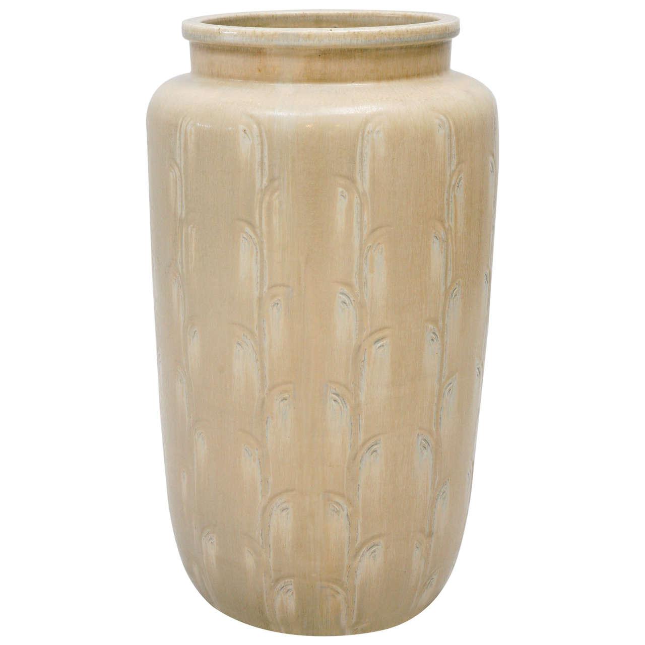Monumental Saxbo Floor Vase