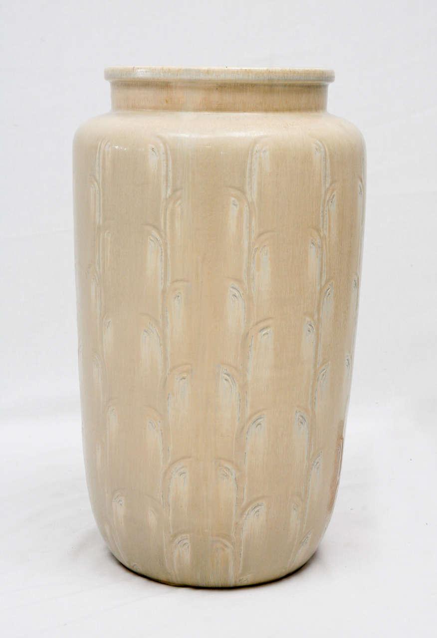 Monumental Saxbo Floor Vase In Excellent Condition In Los Angeles, CA