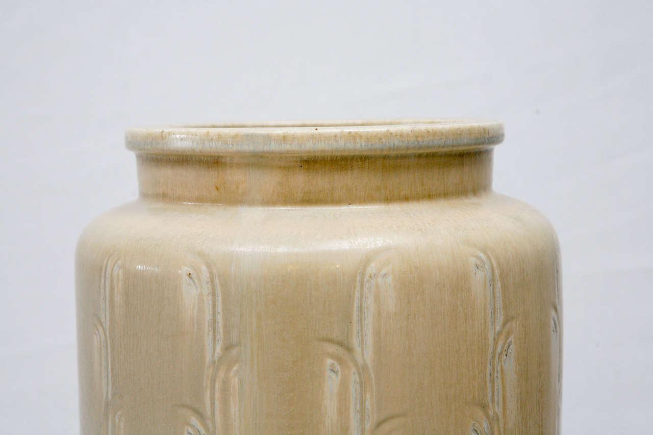 Mid-20th Century Monumental Saxbo Floor Vase