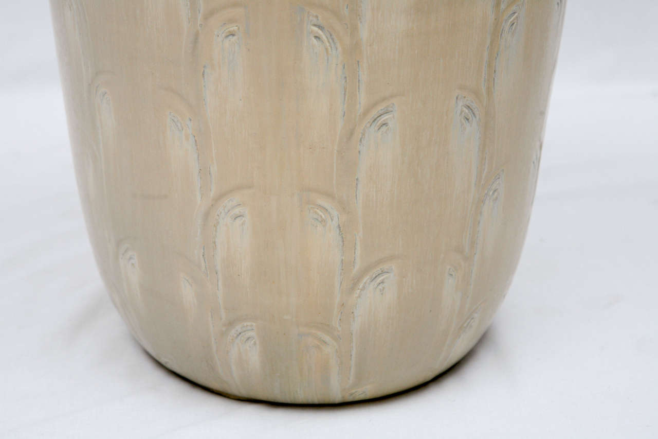 Ceramic Monumental Saxbo Floor Vase