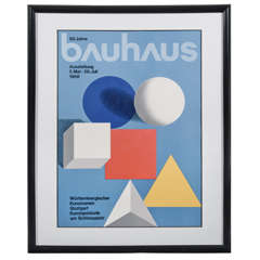 Herbert Bayer Bauhaus Exhibition Poster