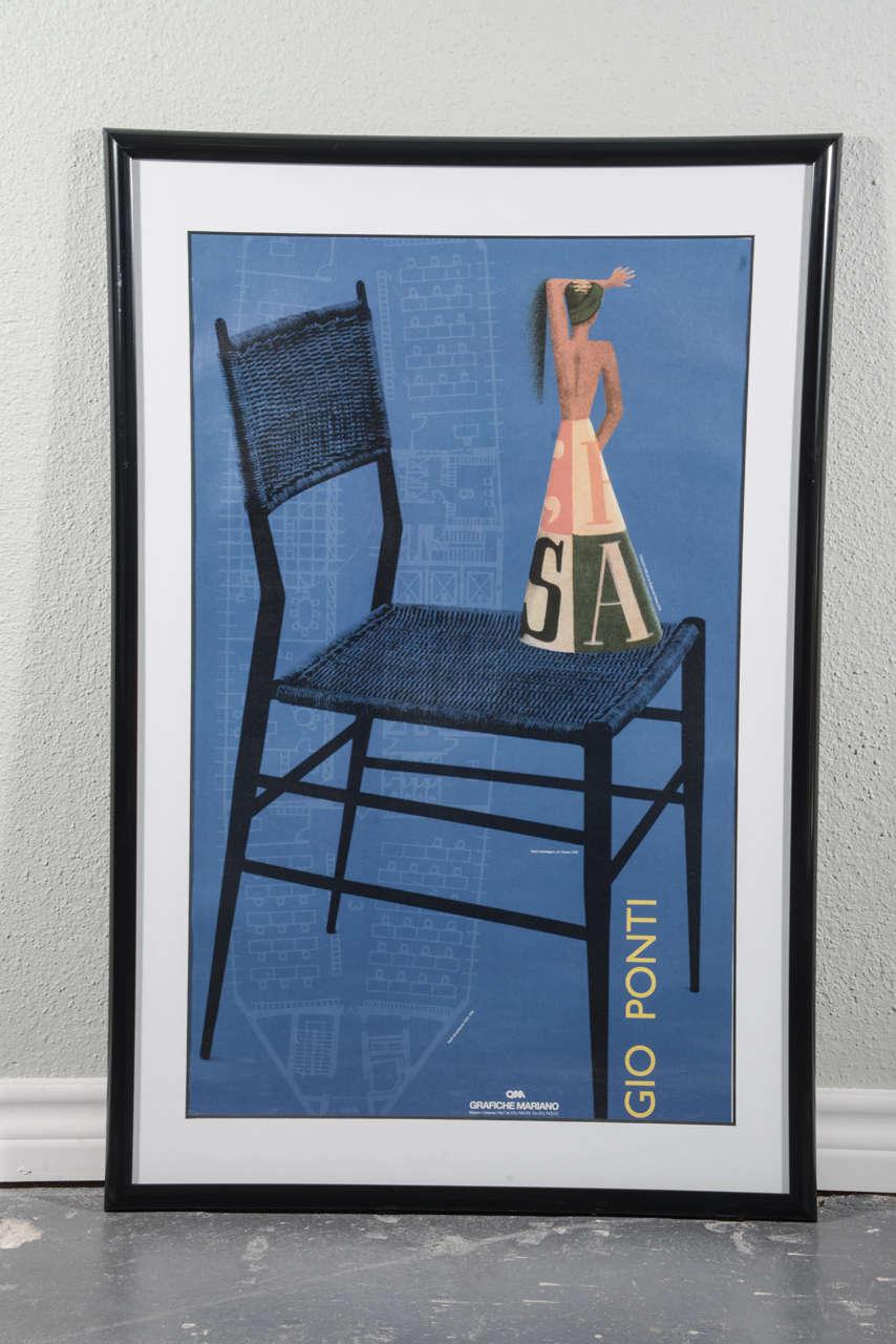Poster design 20th century - Italian Grafiche Mariano 20th Century Poster Of Gio Ponti Design 2