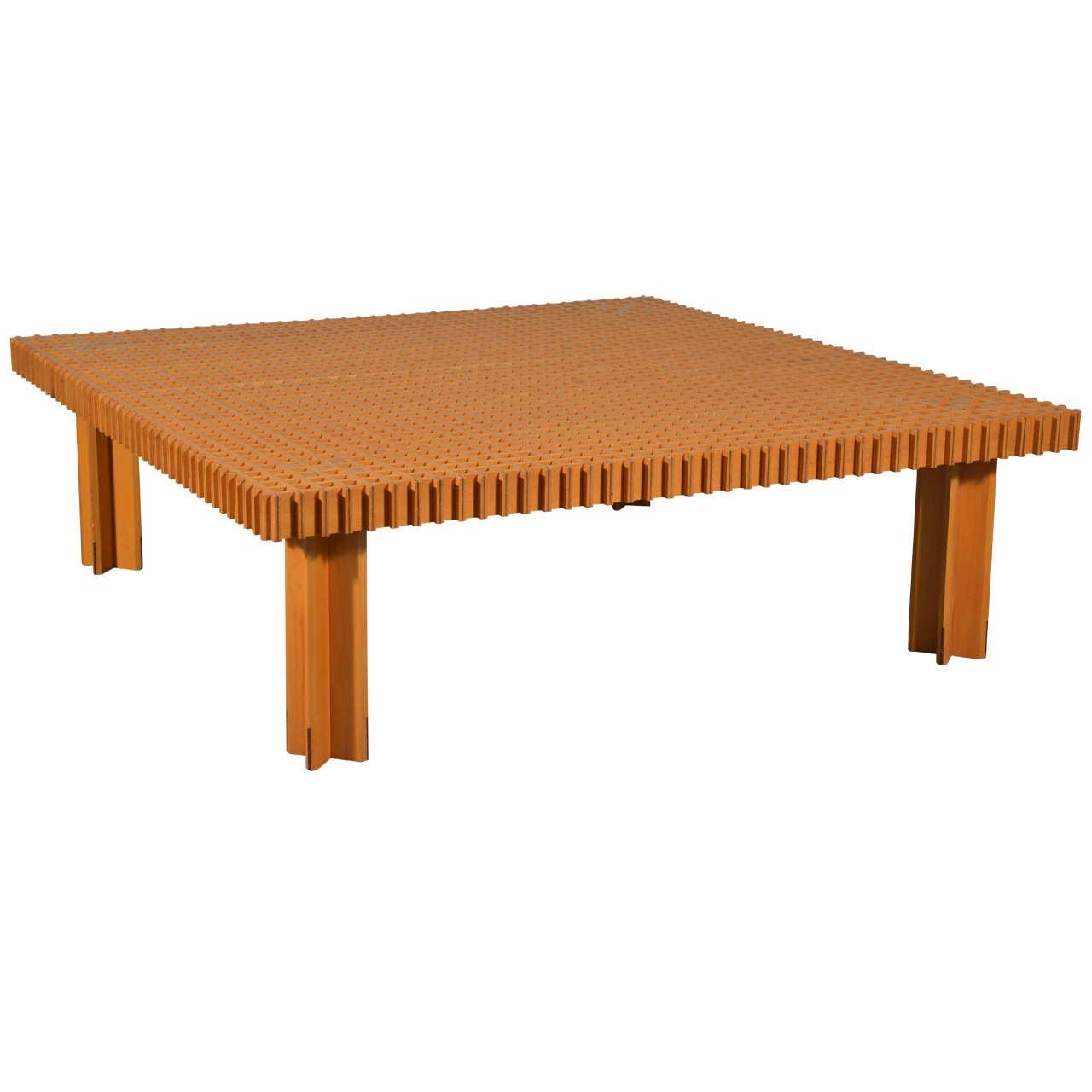 gianfranco frattini kyoto coffee table knoll at 1stdibs