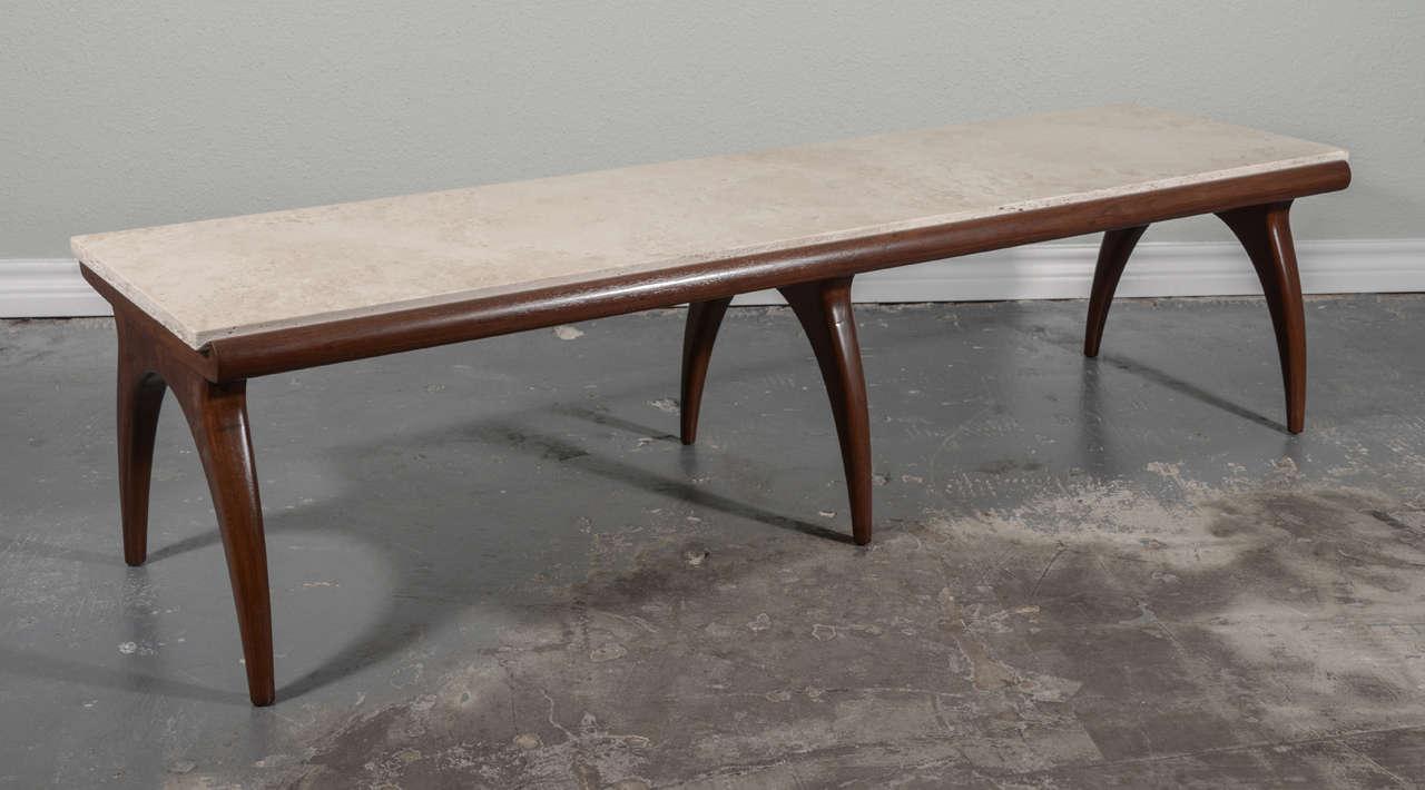 bertha schaefer for m singer and sons coffee table at 1stdibs. Black Bedroom Furniture Sets. Home Design Ideas