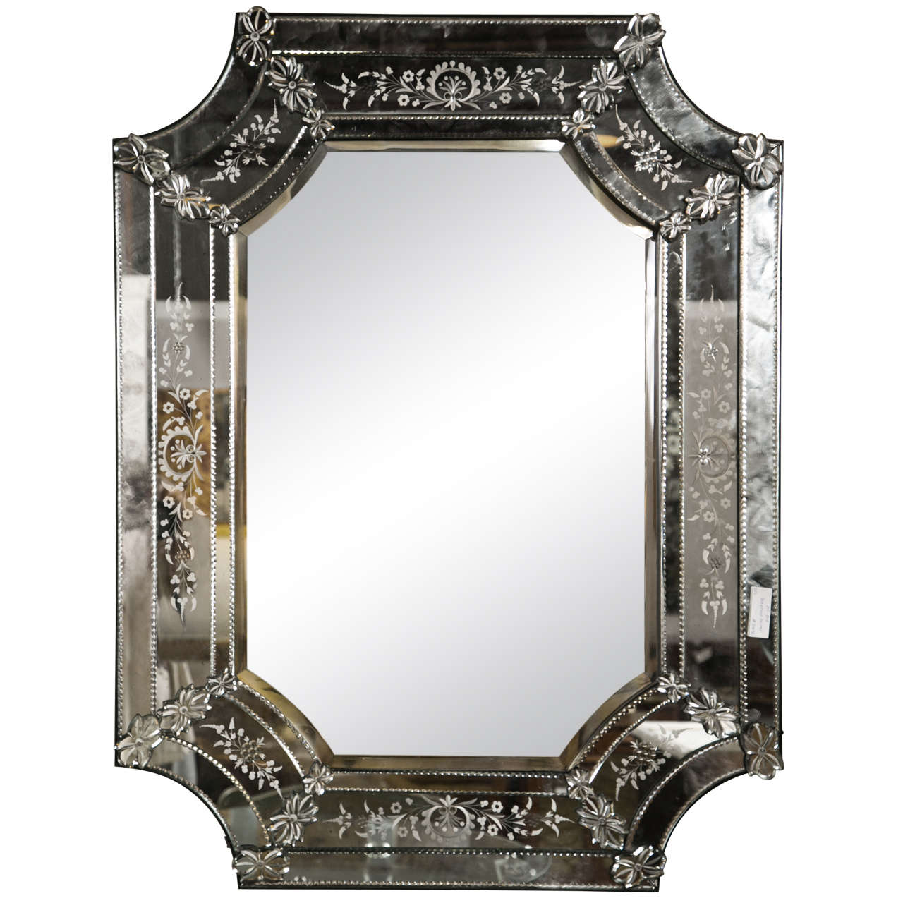 French Venetian Style Mirror at 1stdibs
