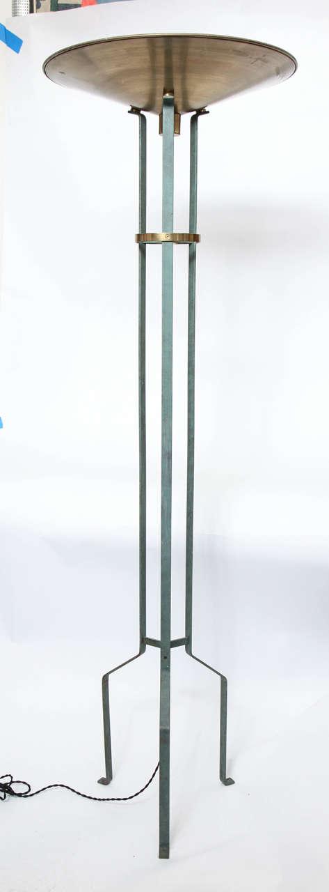 Italian 1970s Modernist Torchere Floor Lamp 2