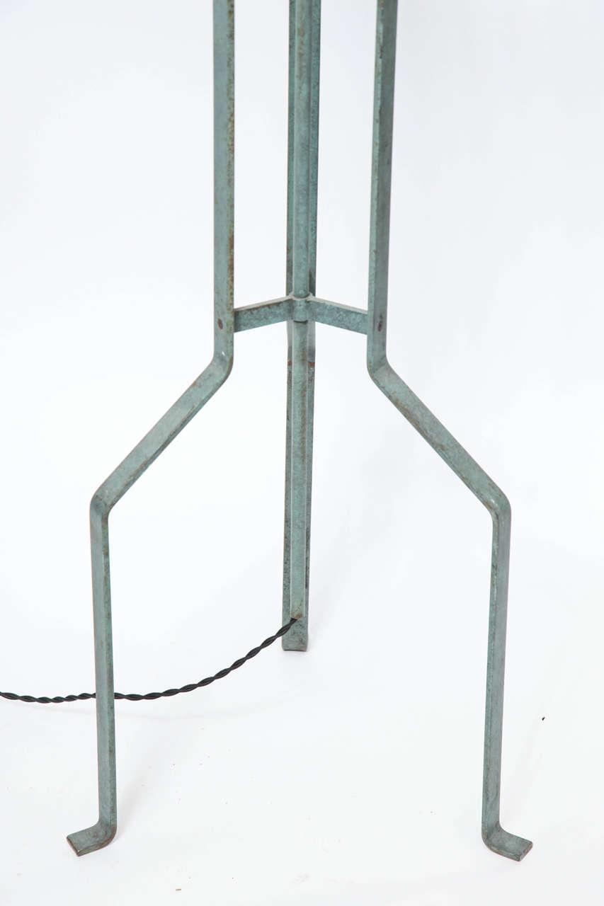 Italian 1970s Modernist Torchere Floor Lamp 3