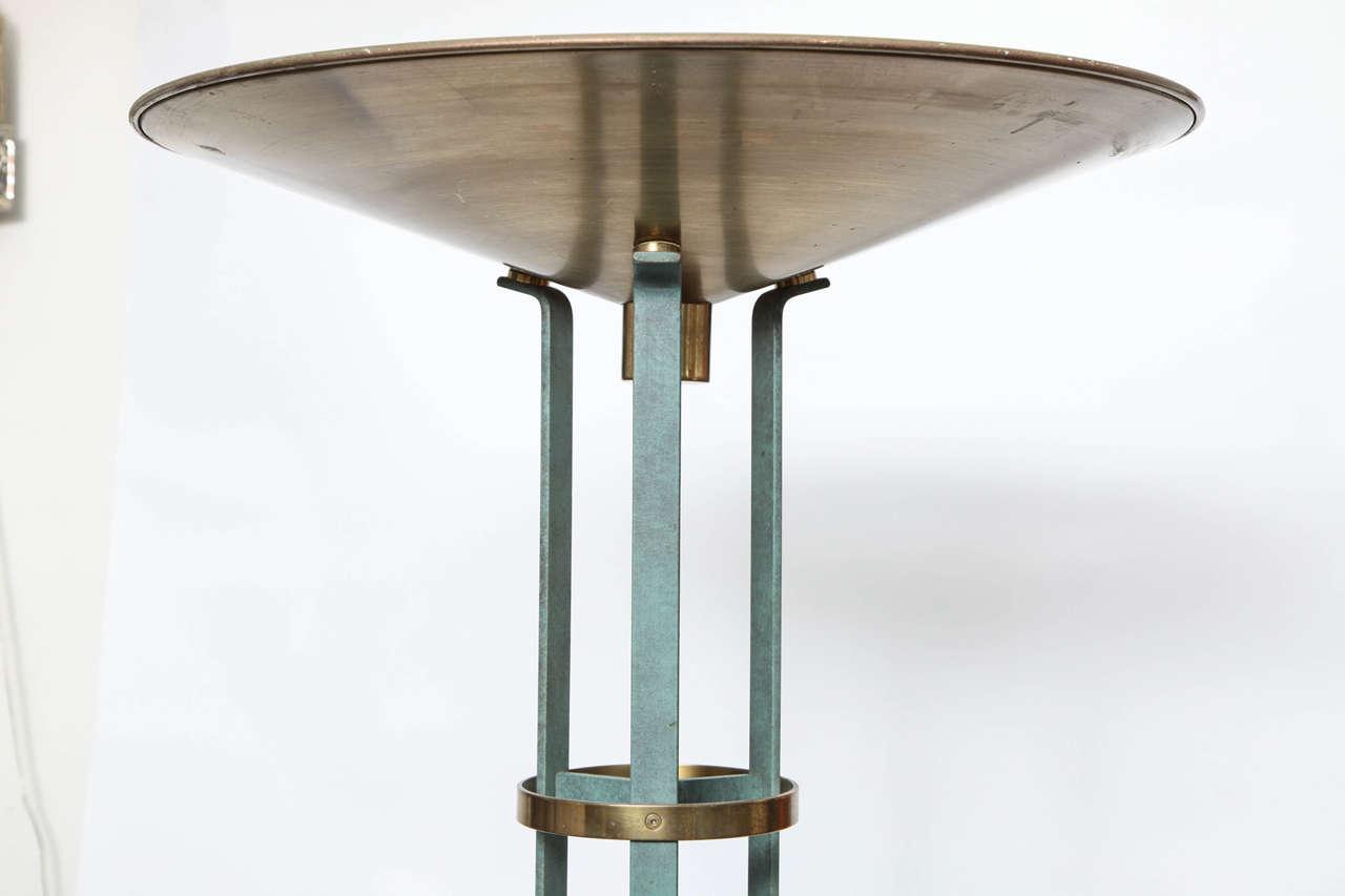 Italian 1970s Modernist Torchere Floor Lamp 6