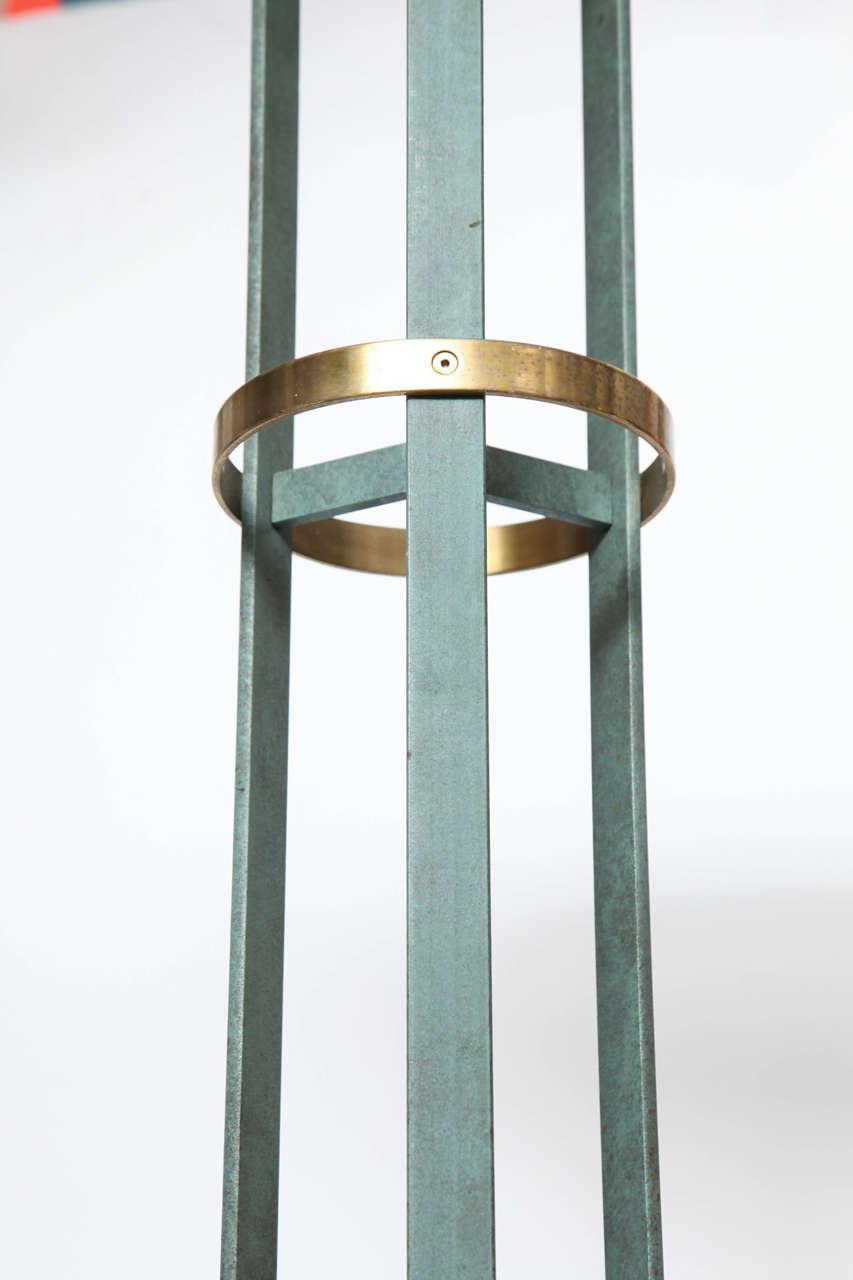 Italian 1970s Modernist Torchere Floor Lamp 10