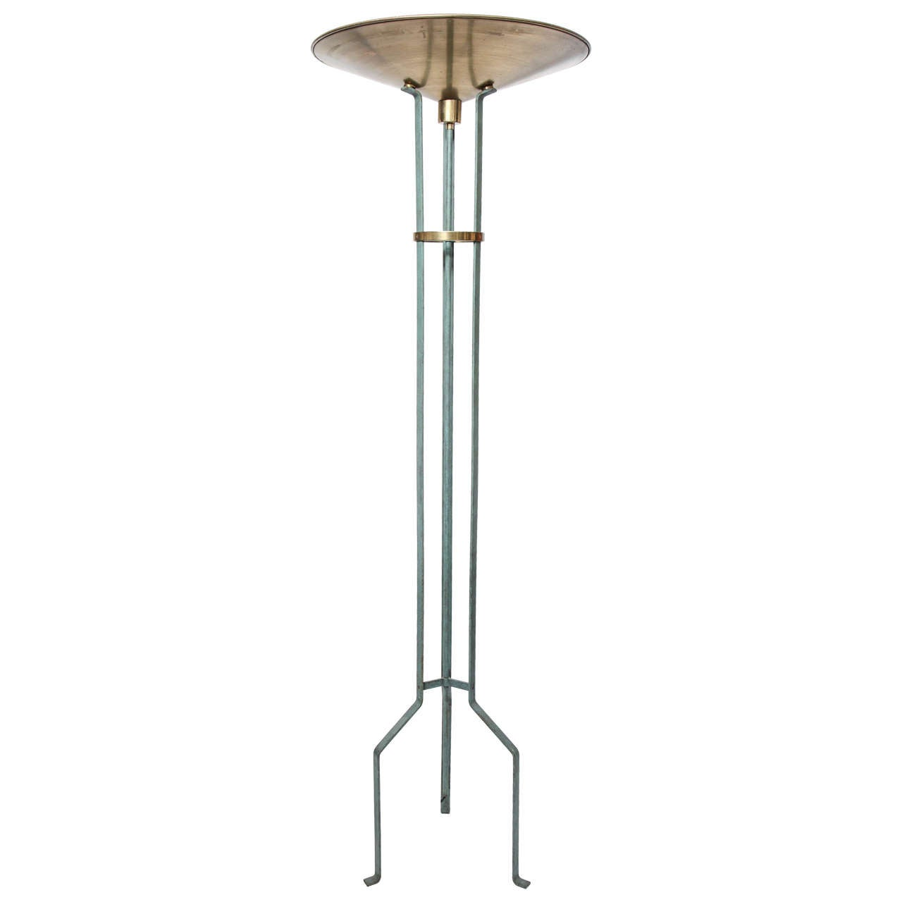 Italian 1970s Modernist Torchere Floor Lamp