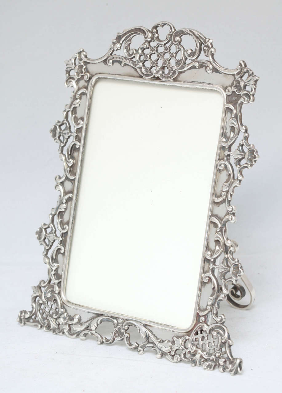 Beautiful All Sterling Silver Picture Frame At 1stdibs
