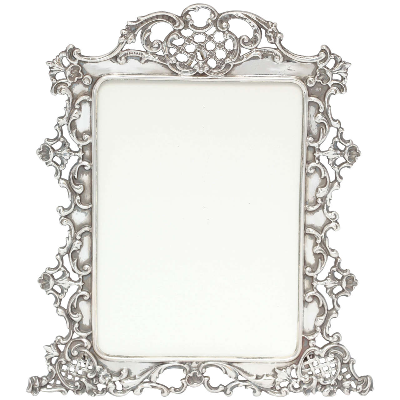 Home Decor Antiques Beautiful All Sterling Silver Picture Frame At 1stdibs