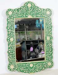 Indian Green Bone Mirror image 2