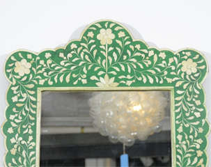 Indian Green Bone Mirror image 4