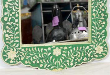 Indian Green Bone Mirror image 5