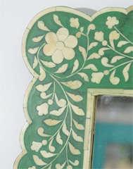 Indian Green Bone Mirror image 7