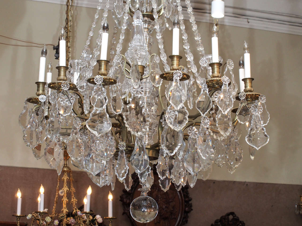 Antique French Louis XVI Baccarat Crystal Chandelier For Sale 1 - Antique French Louis XVI Baccarat Crystal Chandelier At 1stdibs