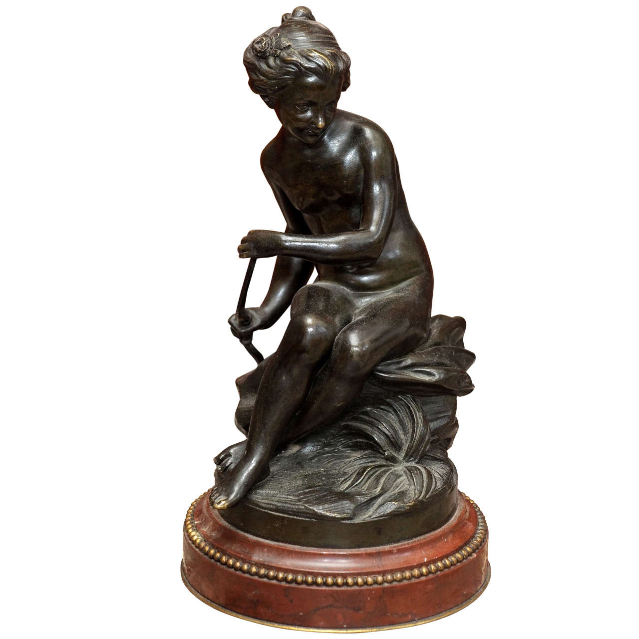 French Bronze of Diana the Huntress