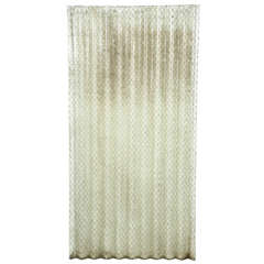 Corrugated Chicken Wire Glass Clear Color