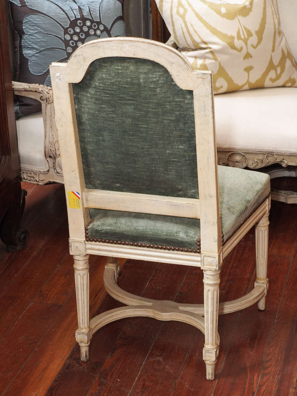 Set Of 6 Louis XVI Dining Room Chairs At 1stdibs