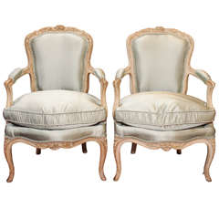 19th Century Louis XV  Fauteuils