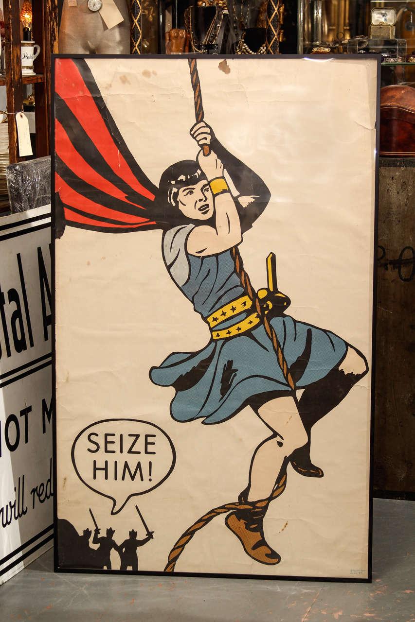 Seize Him! Comic Book Cover Poster 2