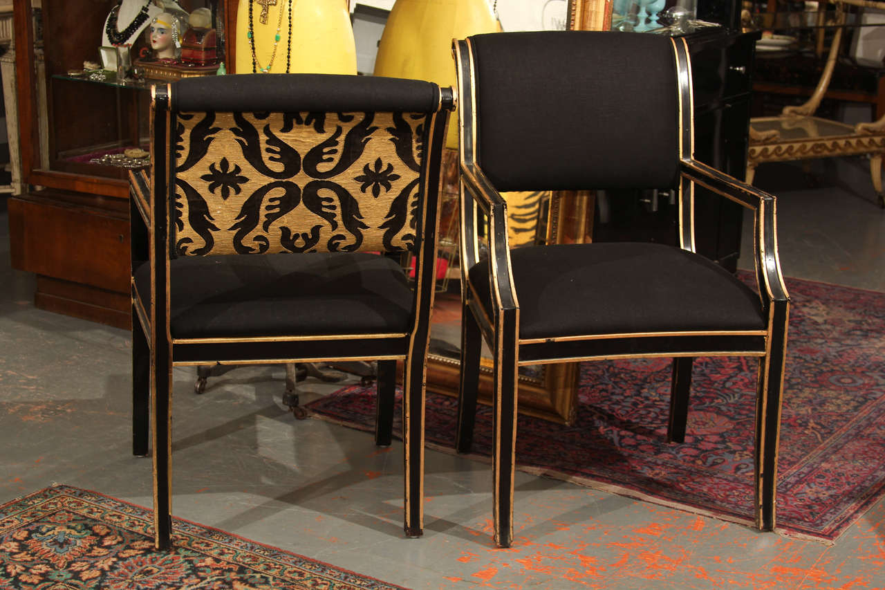 A total of six chairs are available.