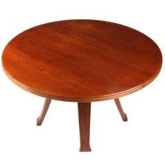 Italian 1940 Round Little Table.