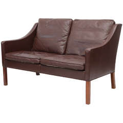 Børge Mogensen Model #2208 Two-Seat Sofa
