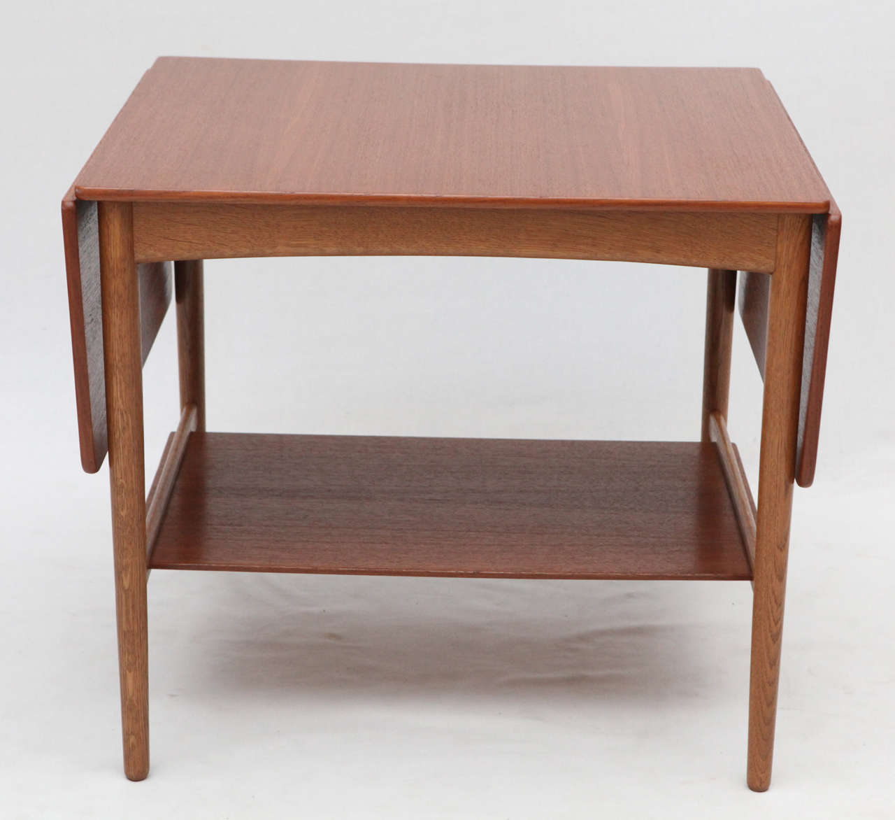 Hans Wegner Drop Leaf Side Table For Sale At 1stdibs