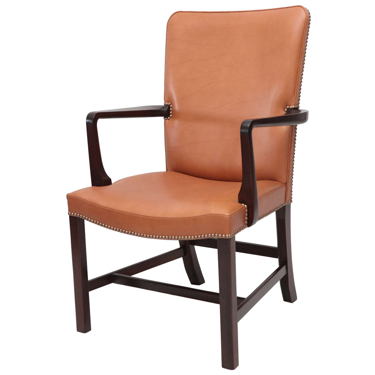 Kaare klint high back armchair at 1stdibs for Armchair with high back