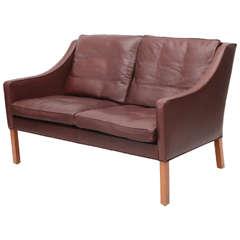 Borge Mogensen Model #2208 Two-Seat Sofa