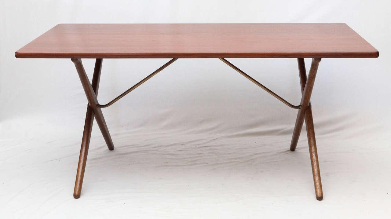 Hans Wegner AT 303 Cross Leg Table 2