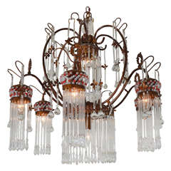 Six Light Italian Chandelier