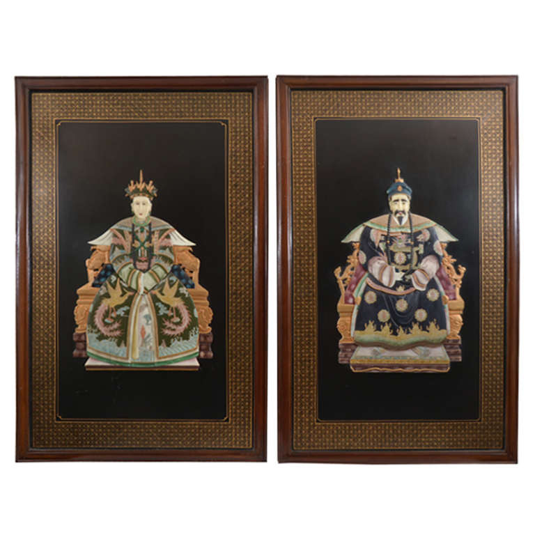 Chinese Ancestral Portraits For Sale