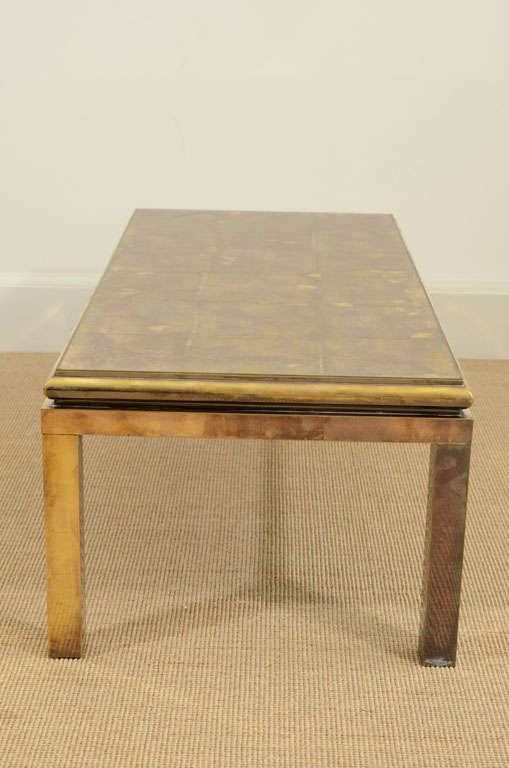 A Jensen Style Rectangular Low Coffee Table At 1stdibs