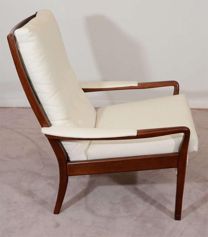 28 mid century chair and ottoman mid century modern lounge