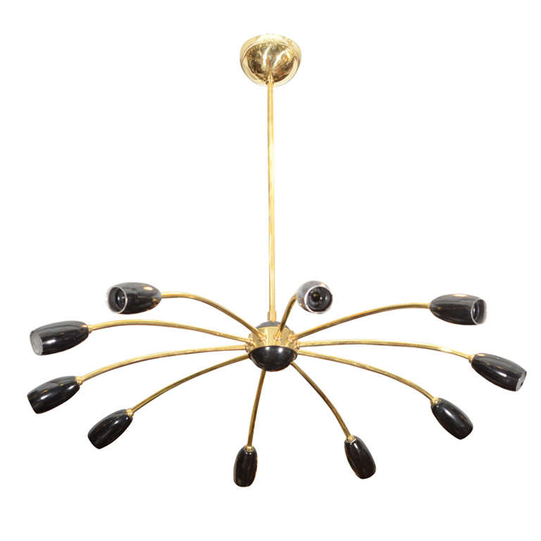 doracy metal lights chandeliers ceiling modern spider light cone shade chandelier lighting pendant